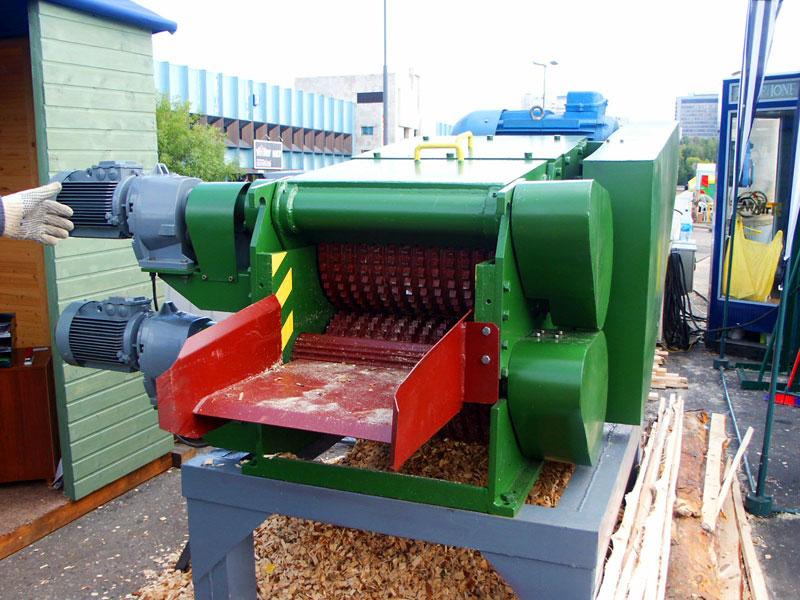 Рубильная машина для производства дров своими руками